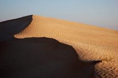 沙丘边缘 库存图片