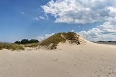 沙丘移动 库存照片