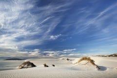 沙丘skys 库存照片