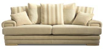 沙发椅子长椅 图库摄影