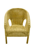沙发由竹子制成 库存照片