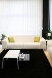 沙发白色 免版税库存照片