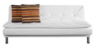 沙发白色 免版税库存图片