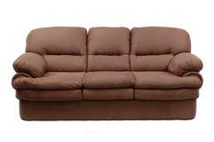 沙发绒面革 库存图片