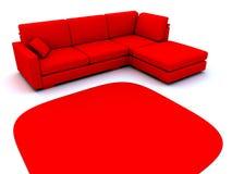 沙发 免版税库存图片