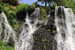 沙基瀑布(亚美尼亚) 免版税库存图片