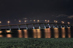 沙子关键桥梁 免版税图库摄影
