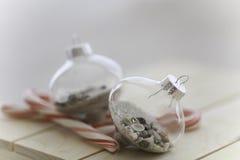 沙子和海圣诞节 免版税库存照片
