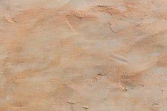 沙子和混凝土年迈的纹理  免版税库存照片
