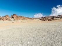 沙子和石头 库存照片
