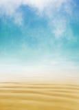 沙子和雾 免版税库存照片
