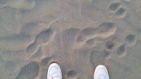 沙子在意大利 免版税图库摄影