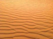 沙子在沙漠 免版税库存照片