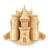 沙子城堡 库存图片