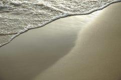 沙子天鹅绒 免版税库存图片