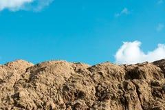 沙子山 库存图片