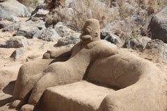 沙子形象 图库摄影