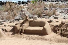 沙子形象 库存照片