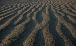 沙子影子 免版税库存图片