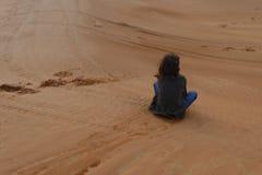 沙子搭乘 免版税库存图片
