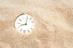 沙子时间 免版税图库摄影