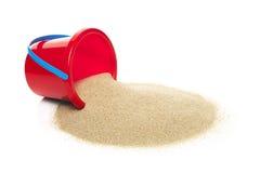 沙子桶 免版税库存图片