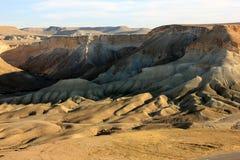沙漠在以色列 库存照片