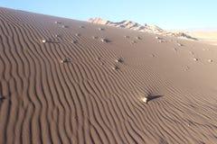 沙子沙漠阿塔卡马 免版税库存图片