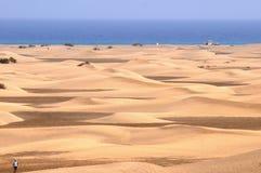 沙子沙漠 免版税库存图片