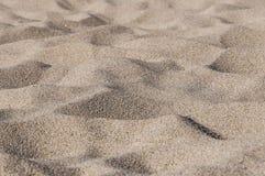 沙子波浪  库存照片