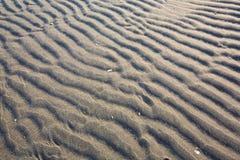 沙子波纹 库存照片