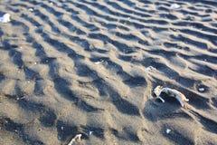沙子波纹 库存图片