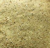 沙子海滩特写镜头纹理晴朗的假期旅行放松温泉 库存照片