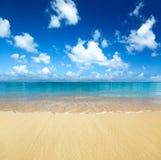 沙子海运 库存照片