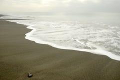 沙子海运 免版税图库摄影