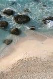 沙子海运 免版税库存照片