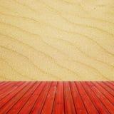 沙子海滩背景无缝的纹理  为产品显示蒙太奇准备 免版税库存照片