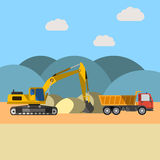 沙子猎物 库存例证