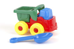沙子玩具 图库摄影