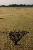 沙子球 库存照片