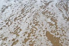 沙子的海 库存图片