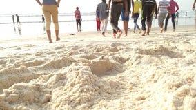 沙子的秀丽 图库摄影