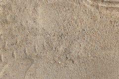 沙子的纹理 免版税库存图片