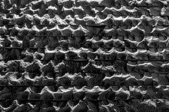 沙子石头砖墙纹理  免版税库存照片
