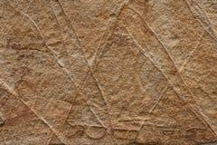 沙子石表面 免版税库存照片