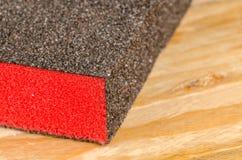 沙子纸块  免版税库存图片