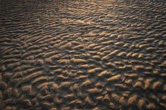 沙子纹理的阴影 免版税库存照片