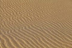 起波纹的沙子 免版税图库摄影