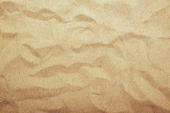 沙子纹理顶视图 免版税库存图片