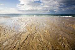 沙子纹理 免版税库存照片